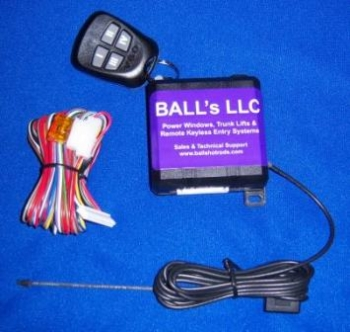 BALL's 7-way Remote Keyless Entry System