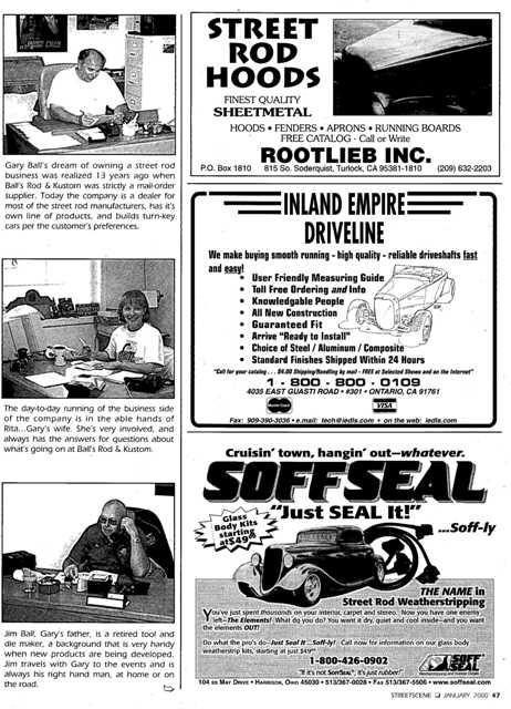 BALL's founders Gary, Rita & Jim Ball