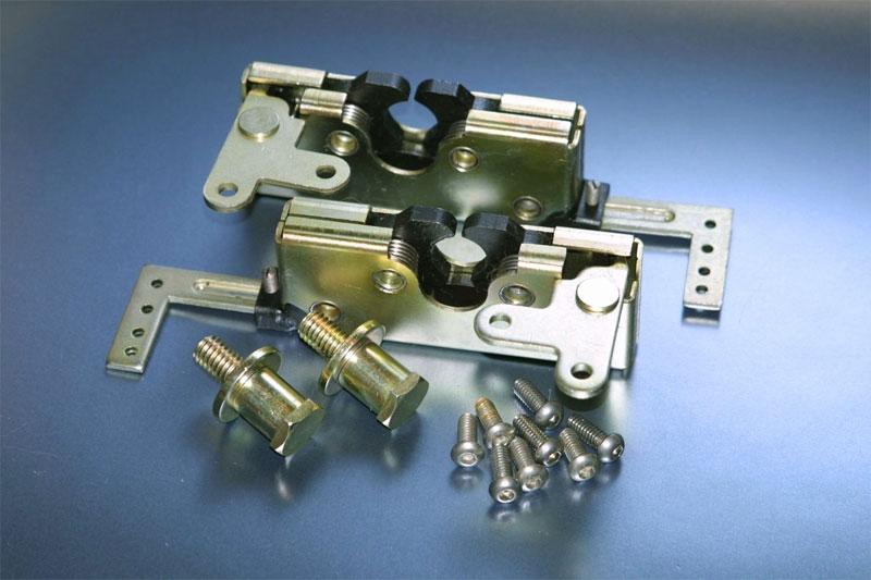 Bear Claw Latch Dual Rotor