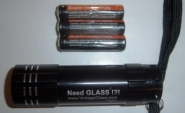 Vintage Glass - Flash Light